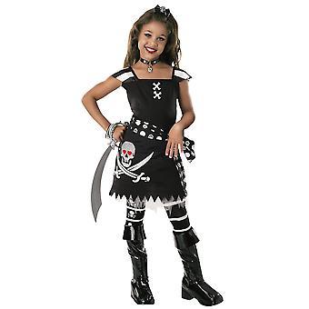 SCAR-Let Ghostship luuranko Skull Pirate Karibian kirja viikko tyttöjen puku