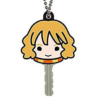 Key Cap-Harry Potter-Hermione soft touch PVC nøgle holder ny 48403
