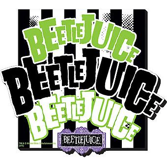Magnet - Beetlejuice - Name x3 New Gifts Toys Licensed 95243