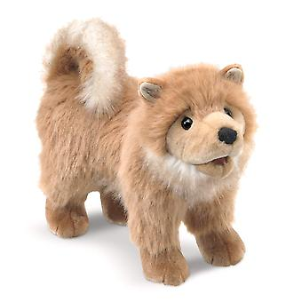 Hand Puppet - Folkmanis - Pomeranian Puppy New Toys Soft Doll Plush 3139