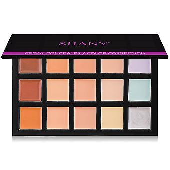 SHANY 4-Layer Contour/Highlight Makeup Set - Refills