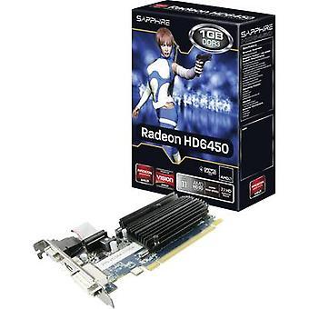 Sapphire GPU AMD Radeon HD6450 1 GB DDR3 RAM PCIe x16 HDMI™, DVI, VGA