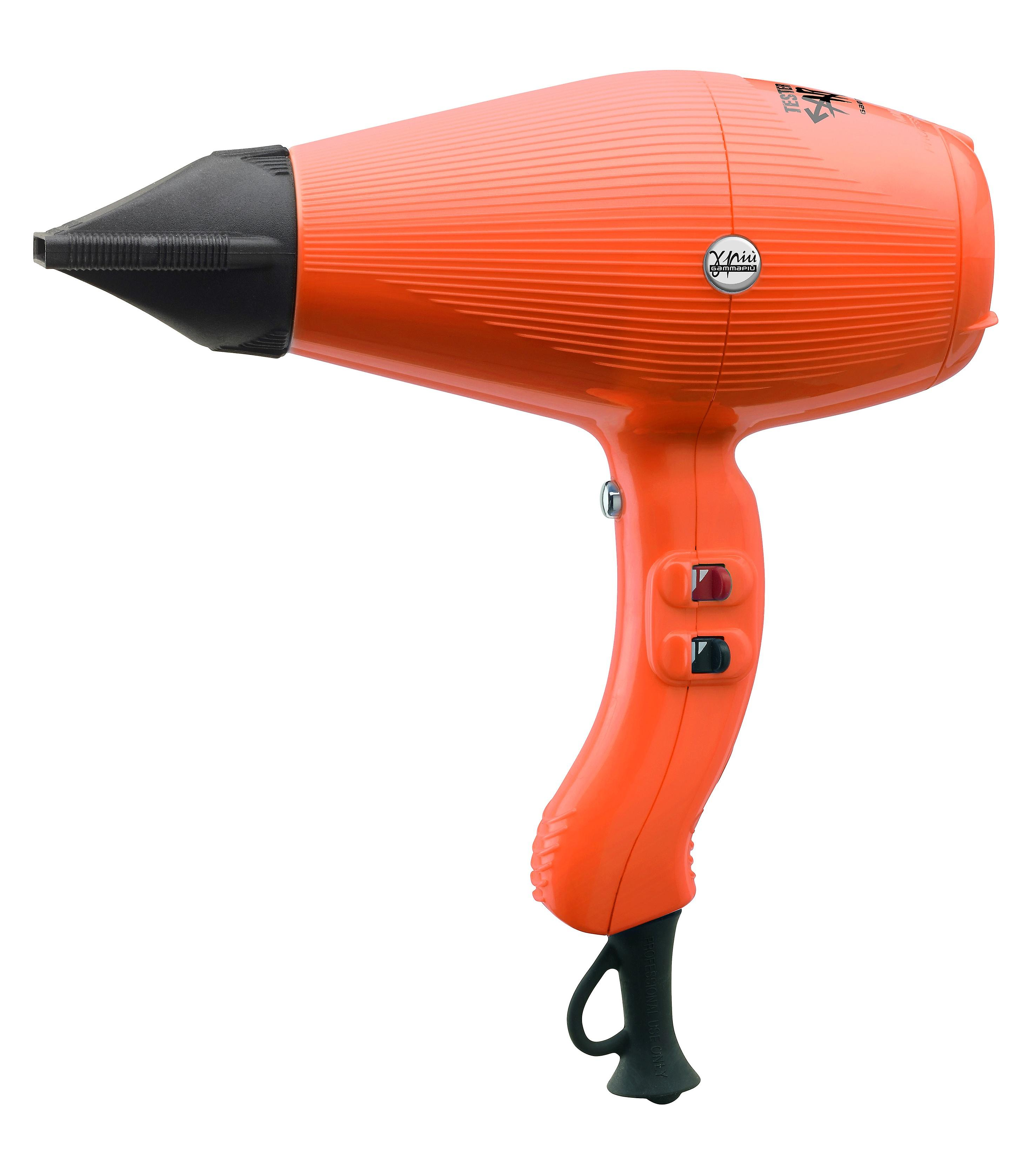 Gamma Piu Aria Hair Hairdryer - Orange