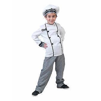Lasten kokki puku kokki de Cuisine Carnival Chef lasten puku karnevaali kokki