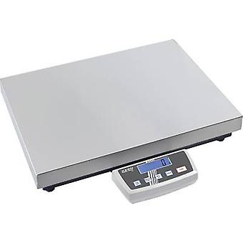 Kern DE 60K10DL Parcel scales Weight range 60 kg Readability 10 g, 20 g mains-powered, battery-powered, rechargeable Silver
