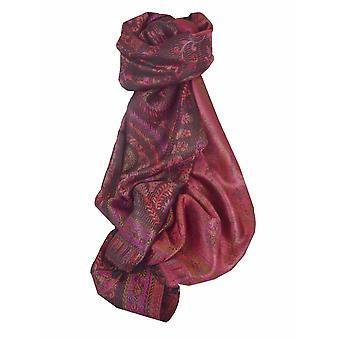 Herren Jamawar Premium Seide Schal Muster 2919 von Pashmina & Seide