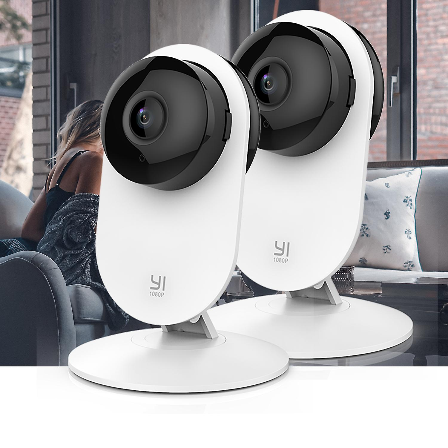 YI Home Camera 1080p-Family Pack 2 in 1