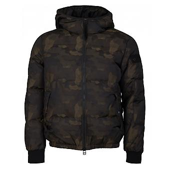 True Religion Camp Hooded Down Jacket