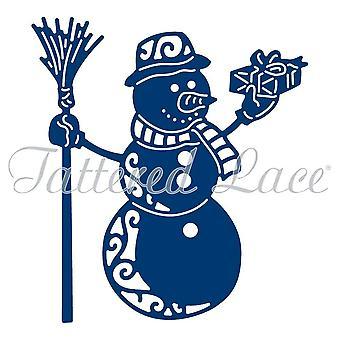 Tattered Lace Essentials Die - Festive Snowman ETL296