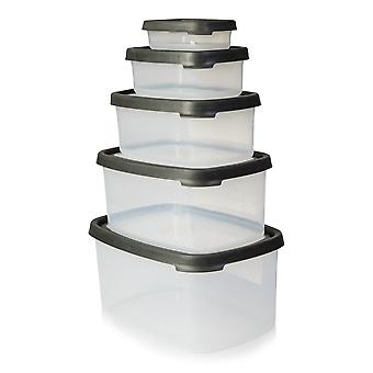 Wham Storage Seal It Rectangular 5 Piece Set