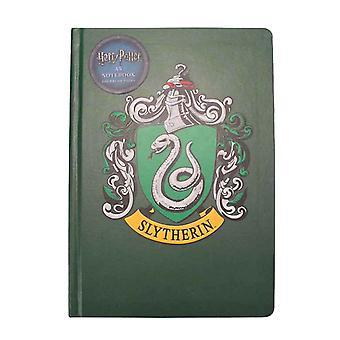 Harry Potter Notebook Slytherin Haus Wappen Logo neue offizielle grün A5