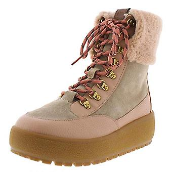 Coach Womens Tyler Suede Ankle Winter Boots