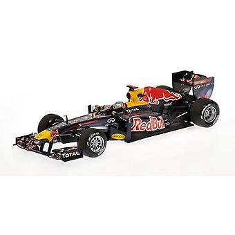 Red Bull Renault RB7 (Sebastian Vettel-winnaar Turkse GP 2011) Diecast model auto