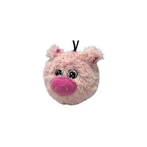 "Petlou EZ Squeaky Pig Ball 4"" - Dog Toy"