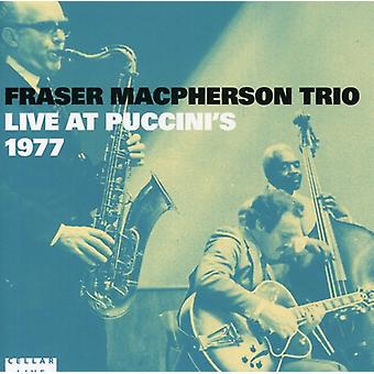 Fraser Macpherson - Live at Puccini's 1977 [CD] USA import