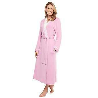 Cyberjammies 1349 vrouwen ' s Nora Rose Lydia roze modal Lace brei lang gewaad