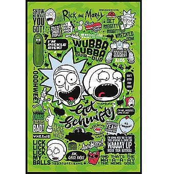 Rick and Morty, Maxi Poster - Quotes