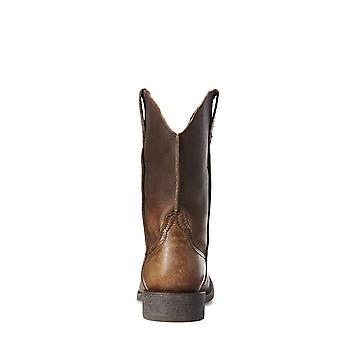 ARIAT الرجال & s رامبلر الجلود الحذاء الغربي الوحيد