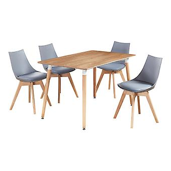 Lanzo Halo Dining set