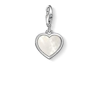 Thomas Sabo Mother Of Pearl Heart Charm