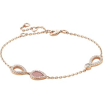 Zeades Sbc01044 bracelet - Bracelet Rose Gold Leather woman
