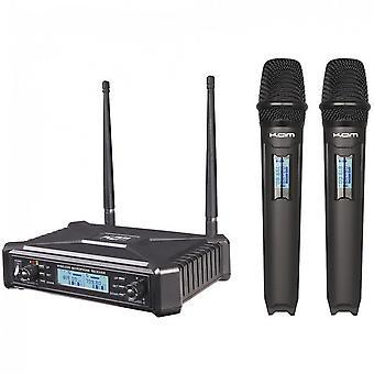 KAM Kam Kwm1920 Dual Uhf Handheld Wireless System