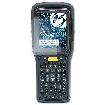 Bruni 2x näytönsuoja yhteensopiva Motorola Omnii XT15 suojaava kalvo