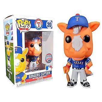MLB Rangers Capitaine Pop! Vinyle