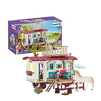 Schleich Horse Club Caravan For Secret Club Meetings Playset