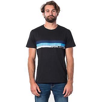 Rip Curl Eclipse Korte Mouw T-shirt in zwart