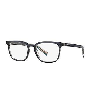 Dolce&Gabbana DG3307 3196 Transparent Blue-Striped Blue Glasses