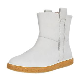 ECCO 200463 Crepetray Ladies Casual Boots In White