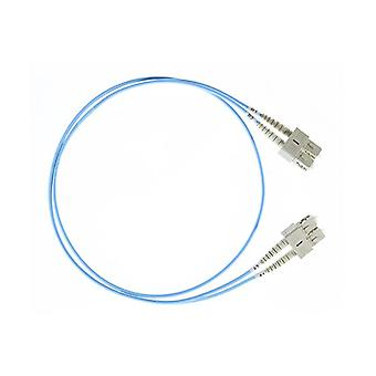 1M Sc Sc Om4 Multimode Fiber Optic Cable Blue
