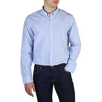 Tommy Hilfiger Original Men All Year Shirt - Blue Color 40707