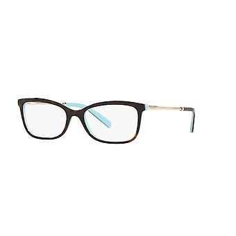 Tiffany TF2169 8134 Havana on Tiffany Blue Glasses