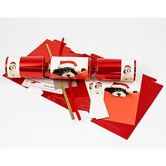 Single Cute Puppy Make & Fill Your Own DIY Christmas Cracker Craft Kit