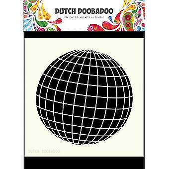 Dutch Doobadoo Dutch Mask Art 15x15cm Earth 470715610