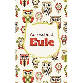 Adressbuch Eule by Us & Journals R