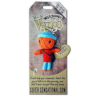 Watchover Voodoo Dolls Super Sensational Son Voodoo Keyring