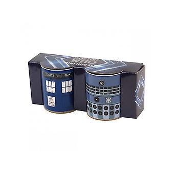 Doctor Who Mini Tassen
