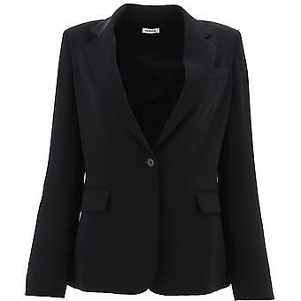 P.a.r.o.s.h. D420220013 Damen's Schwarz Polyester Blazer