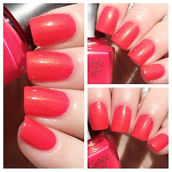 Morgan Taylor Hip Hop Coral Metal Luxe Lisse Long Lasting Nail Laquer polonais