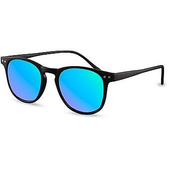 Sonnenbrillen Herren-Reisende matt schwarz/blau (CWI1655)