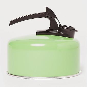 New Hi Gear Aluminium Whistling Kettle (2 Litre) Green