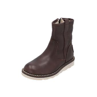 Hip H2280 Kids Boys Boots Brown Lace-Up Boots Winter