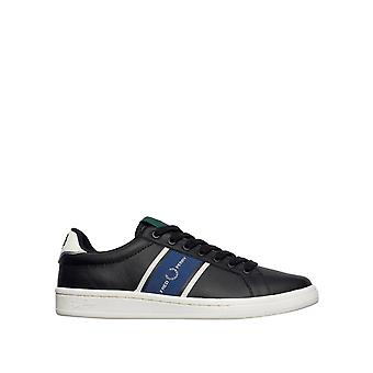 Fred Perry Men's B721 Leather / Webbing Low Top Sneakers