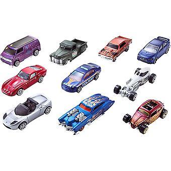 10x Hot Wheels Toy Cars - Sold Randomly