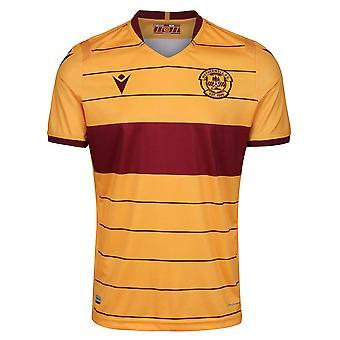 2019-2020 Motherwell Macron Home Football Shirt