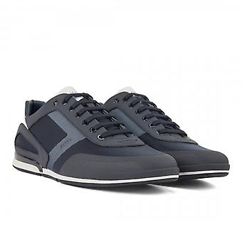 Hugo Boss Saturn_Lowp_act4 Navy Blue 401 Trainers 50428234