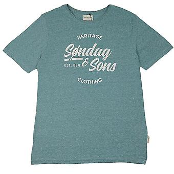 Søndag & Sons Heritage Print T-shirt